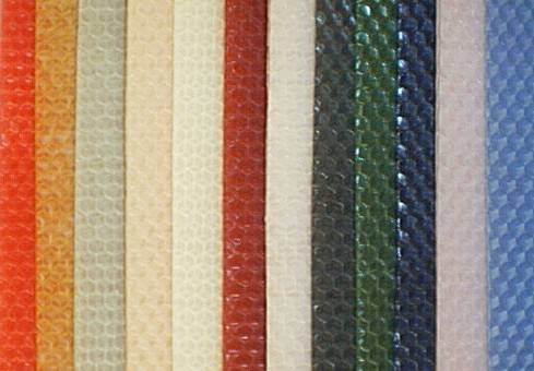 Colors of our Pure beeswax sheets